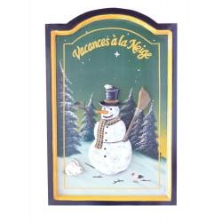Cadre vacances à la neige