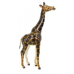 Girafe en cuir - Grand model