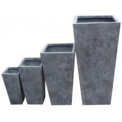 Série de 4 pots carrés...