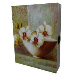 Boite a clés Orchidée