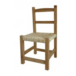 Chaise enfant teinte Naturelle