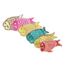 Porte monnaie poisson