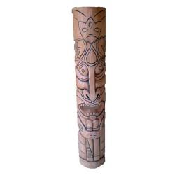 Masque africain naturel 100 cm