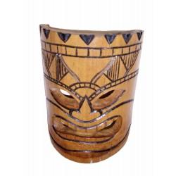 Masque africain bambou 20cm