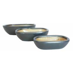 set de 3 pots d'interieur
