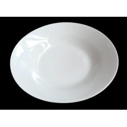 Assiette creuse ronde blanche