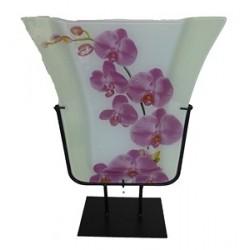 Vase model 3 / motif Orchidée