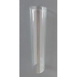 Vase verre 15X3cm (Soliflore)