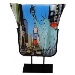 Vase motif New York